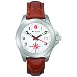G-3 Navigator w/Compass, White Dial, Brown Leather Strap